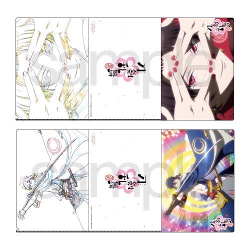 『刀剣乱舞-花丸-』セル画&原画見比べクリアファイル(10種)