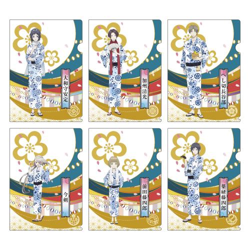 刀剣乱舞-花丸-×大江戸温泉物語 クリアファイル(第一部隊)