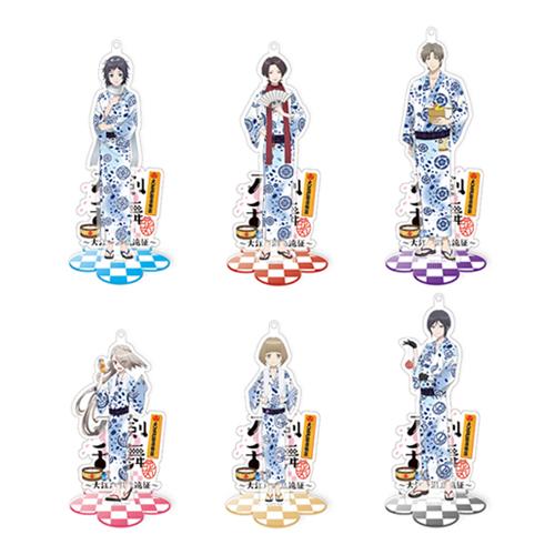 刀剣乱舞-花丸-×大江戸温泉物語 スタンドアクリルチャーム(第一部隊)