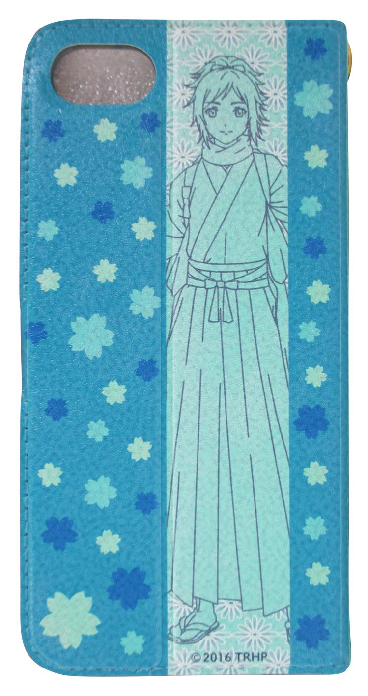「刀剣乱舞-花丸-」手帳型iPhoneケース