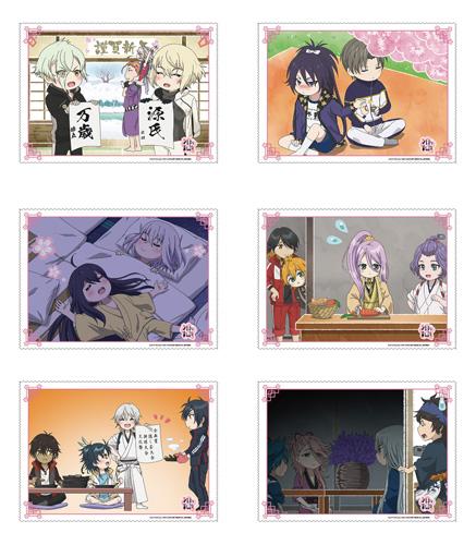 続『刀剣乱舞-花丸-』エンドカードA4マイクロファイバークロス