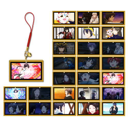 5月22日:続『刀剣乱舞-花丸-』キーホルダー/ビジュアルコレクション 第十二弾